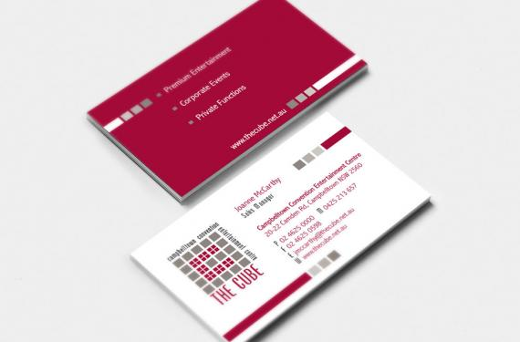 The Cube Business Card