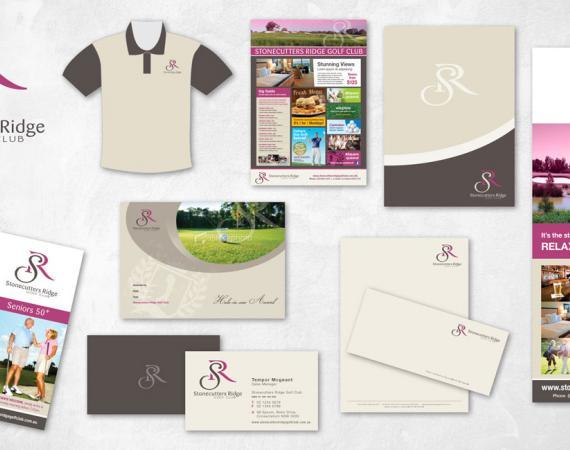 Stonecutters Ridge Golf Club Branding