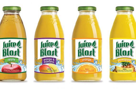 Juice Blast Labels