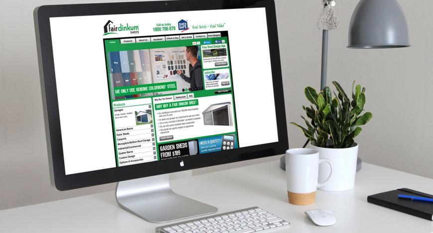 Fairdinkum Sheds Website